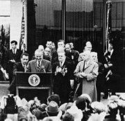 LBJ announces Lunar Science Institute in 1968