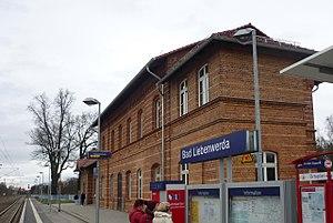 bad liebenwerda station wikipedia. Black Bedroom Furniture Sets. Home Design Ideas