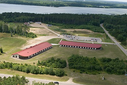 Tribal Colleges preserve and pass on both general knowledge and, through employing community Elders, traditional Indigenous knowledge. (Leech Lake Tribal College, Minnesota) LLTC 2009 NSTI Aerial Shot.jpg