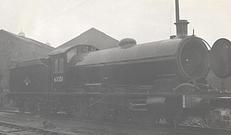 Darlington Works - Image: LNER Q6 Darlington Works 22.03.59