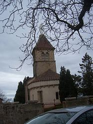 The church in La Chapelle-sous-Dun