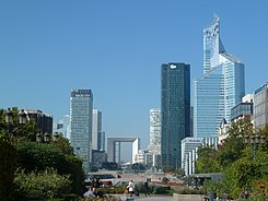 La Défense as seen from Neuilly-sur-Seine, France - 20111015.jpg