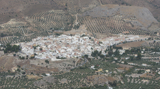 La Guardia de Jaén - Panoramic of La Guardia de Jaén and her castle.
