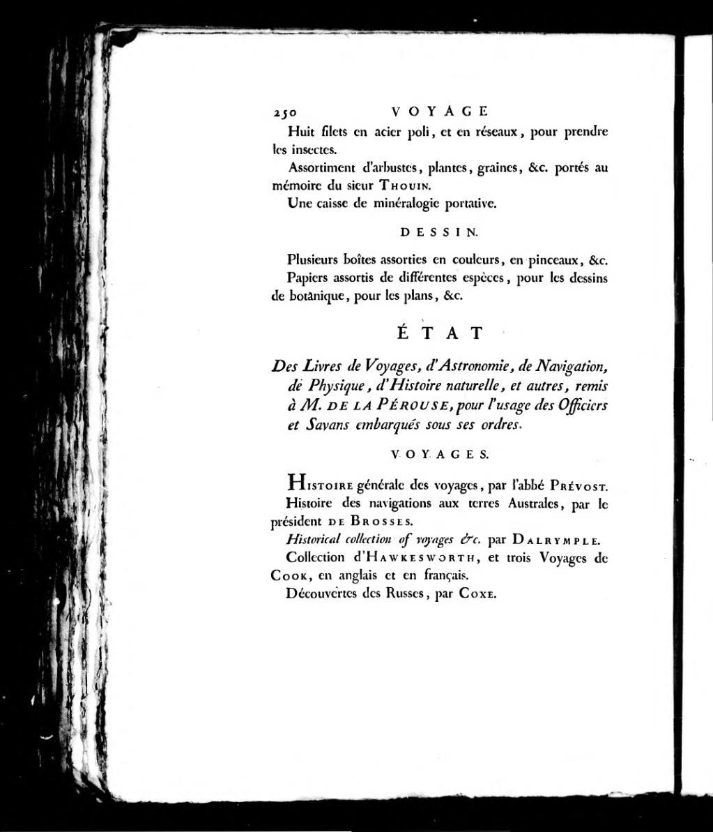 Page La Perouse Voyage De La Perouse Tome 1 Djvu 329