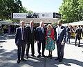 La alcaldesa en funciones acompaña a la Reina en la inauguración de la Feria del Libro 05.jpg