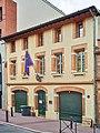 La rue Sainte-Anne (Toulouse) - N°16 Consulat général d'Espagne, 1re moitié du xixe siècle.jpg