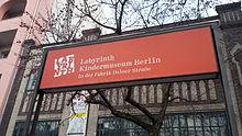 Labyrinth Kindermuseum Berlin – Wikipedia