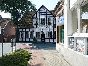 Ladbergen - Restaurant in a half-timbered house