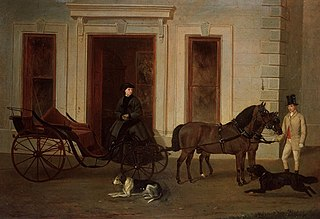 Lady Pryse, carriage & horses, coachman