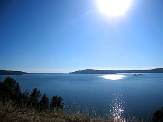 Lake Oroville Reservoir in California, U.S.
