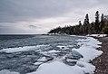 Lake Superior Ice - Winter in Grand Marais, Minnesota (25918382697).jpg