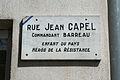 Lamalou plaque Capel.jpg