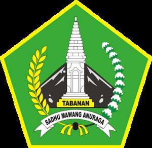 Tabanan Regency - Image: Lambang Kabupaten Tabanan