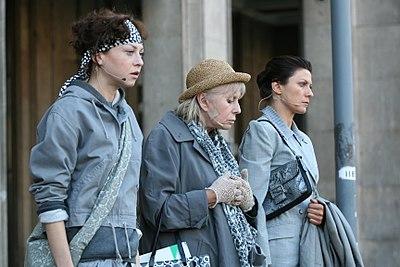 Lament na Placu Konstytucji w Warszawie - Barbara Wrzesińska, Małgorzata Zawadzka, Katarzyna Maternowska.jpg