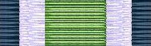 Peter van Uhm - Image: Landmachtmedaille Nederland 2002 ribbon