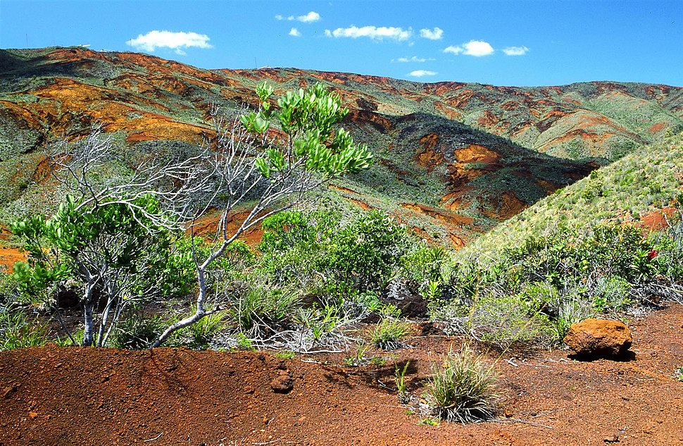 Landscape, south of New Caledonia