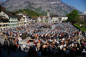 Glarus - Image: Landsgemeinde Glarus, 2009