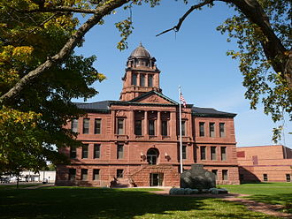 Langlade County, Wisconsin - Image: Langlade County Courthouse Wisconsin 2