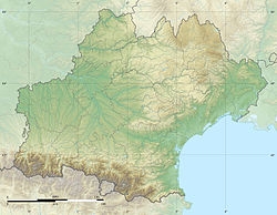 Languedoc-Roussillon-Midi-Pyrénées region relief location map.jpg