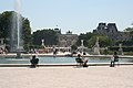 Large round basin of Jardin des Tuileries 1, Paris 15 July 2006.jpg