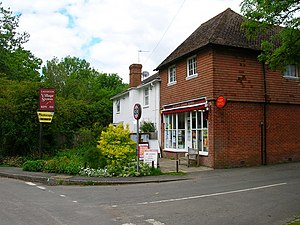 Laughton, East Sussex - Image: Laughton Village Stores geograph.org.uk 177491