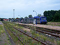 Lauterbourger Bahnhof- auf Bahnsteig zu Gleis A (Hausbahnsteig)- Richtung Wörth am Rhein 1.8.2008.jpg