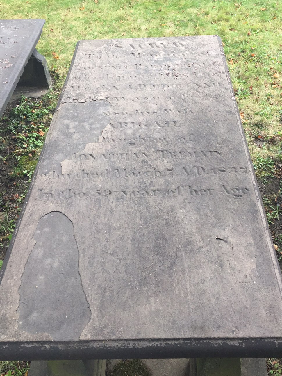 Lawrence Hartshorne, Old Burying Ground, Halifax, Nova Scotia