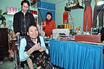 Le Thi Het receives support to boost her income from sewing. (6586872289).jpg