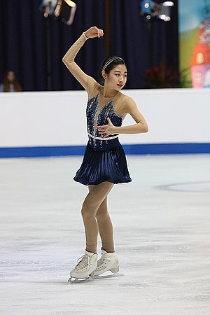 Lee Hae-in at the Junior World Championships 2019.jpg