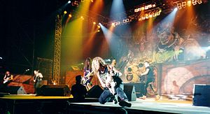 Iron Maiden, Madrid 1999}
