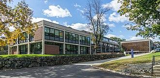 Benjamin Thompson (architect) - Image: Lemberg Hall, Brandeis University