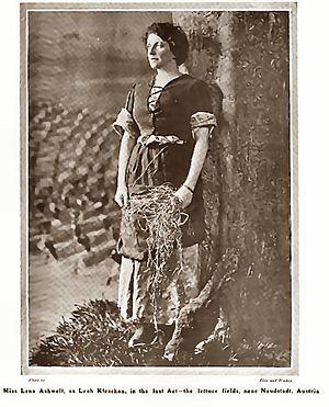 Leah Kleschna - Lena Ashwell as Leah Klaschna (Act V) The Play-pictorial, 1905