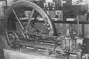 Otto engine - The 1860 Lenoir Engine