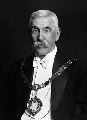 Leonard Rogers - Sir Leonard Rogers, wearing the insignia of the Knight Commander of the Order of the Star of India
