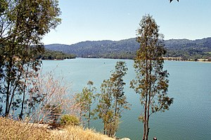 Lexington Reservoir - Image: Lexington Reservoir R4IMG002