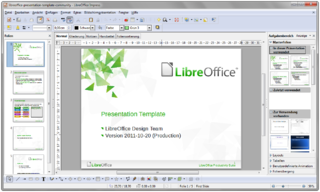 file:libreoffice-3.5-impress-withcontent-german-windows-7, Template Libreoffice Presentation, Presentation templates
