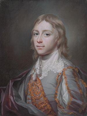 Robert Nugent, 1st Earl Nugent - His son Lieutenant-Colonel Edmund Craggs Nugent (Francis Cotes, 1748)