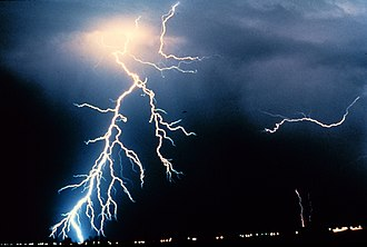 Electric arc - Natural Lightning is now considered an electric spark, not electric arc.