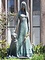 Liliana Crociati de Szaszak statue.JPG
