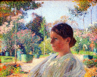 Henri martin peintre wikip dia - Le jardin champetre magog lille ...