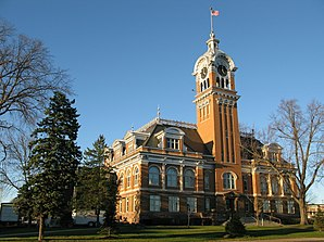Das Lincoln County Courthouse in Merrill, seit 1978 im NRHP gelistet[1]