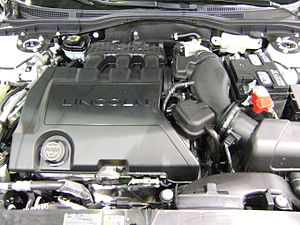 Ford Cyclone engine - The 3.5 L Duratec 35 installed in a 2007 Lincoln MKZ