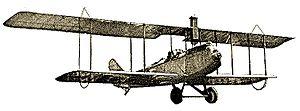 Charles Lindbergh - Lincoln Standard J biplane