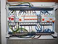 Linnamäe 37 - fuse box is wired.JPG