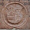 Linz Landhaus Gedenkstein Georg Haslhueber Wappen.jpg