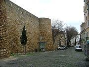 Lisboa castelo wall