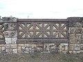 Listed Schmidt Villa garden, stone fence detail, 2017 Dorog.jpg