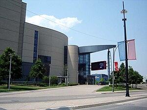 Living Arts Centre - Image: Living Arts Centre Back