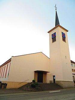 Lixing-lès-Rouhling Église Saint-Maurice.jpg