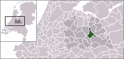 Location of Zeist